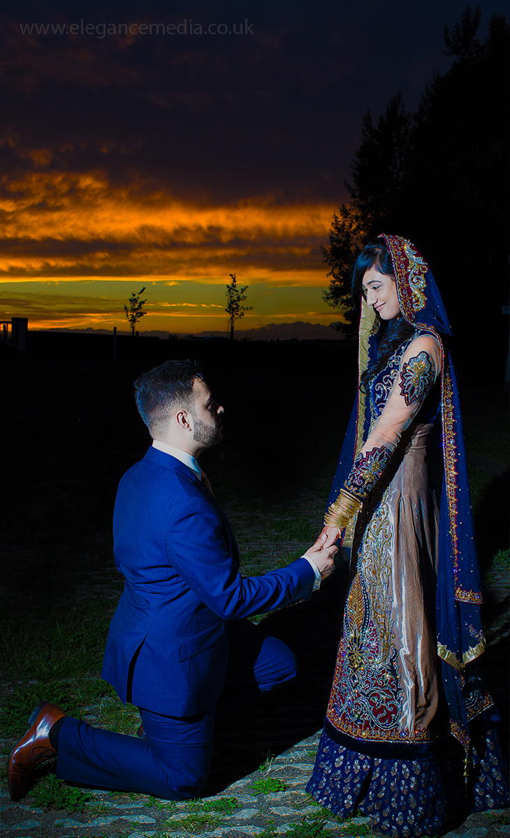 asian wedding photography, couples portrait