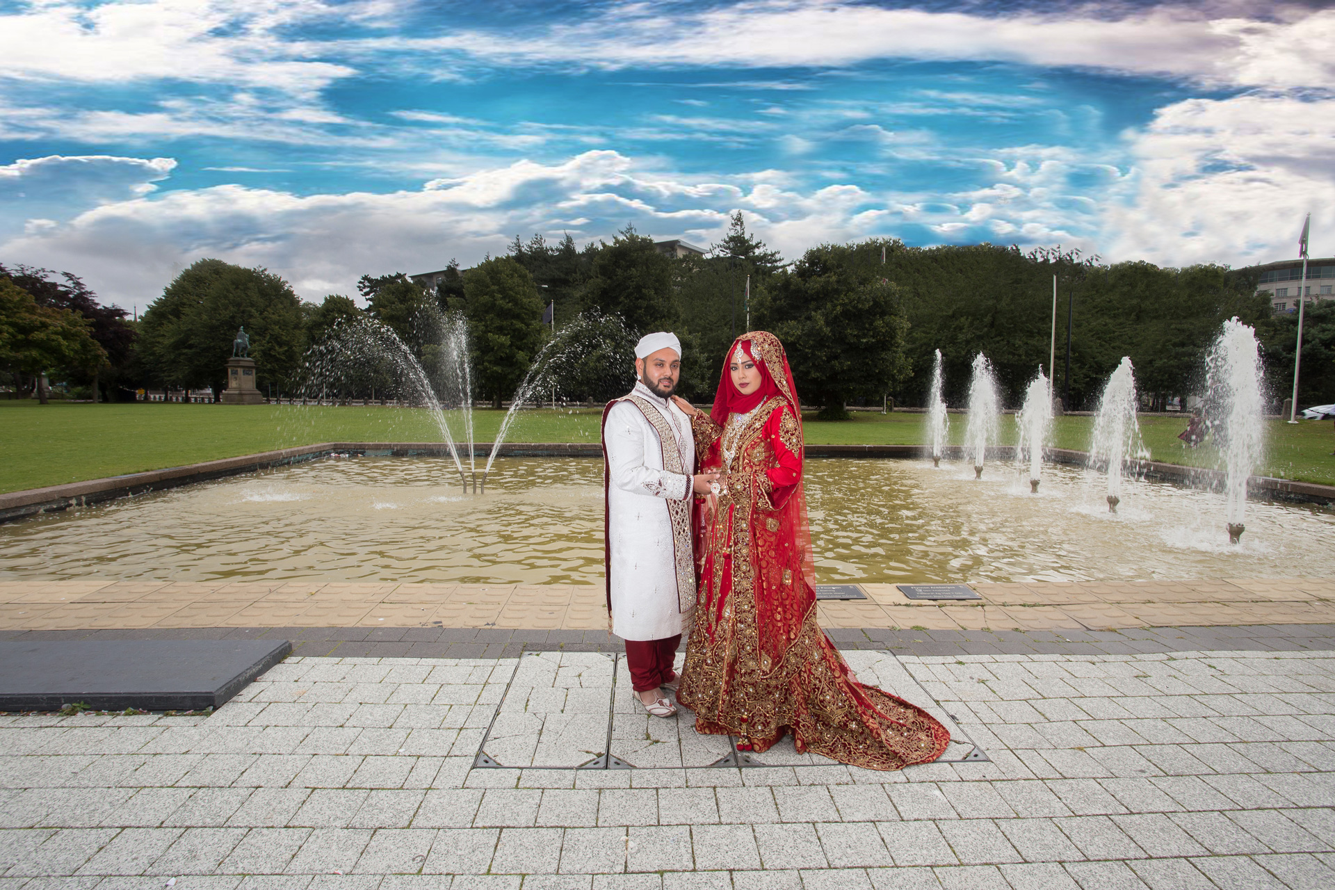 asian wedding photography wales